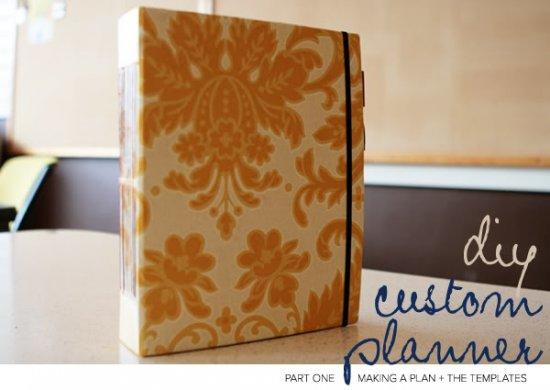 Custom Day Planner Title