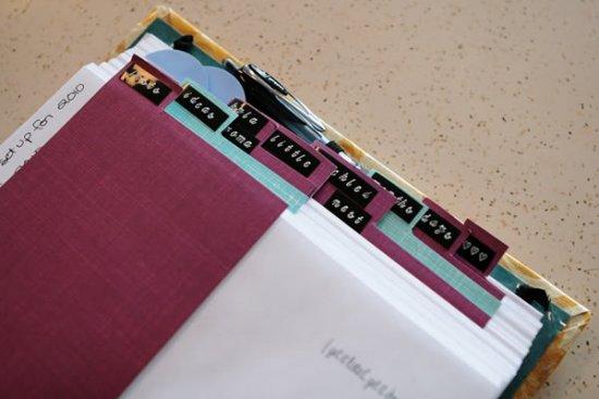 Custom Day Planner Section