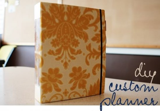 DIY Custom Planner Title