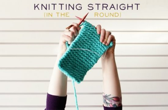 Knit in the Round Title