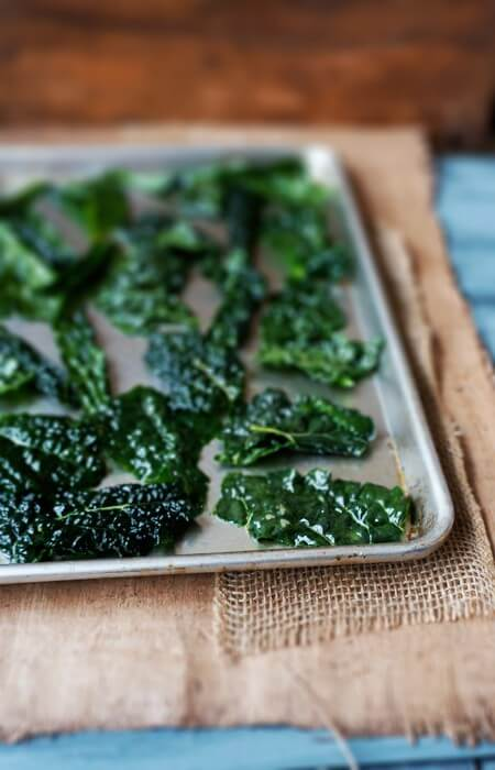 salt & vinegar kale