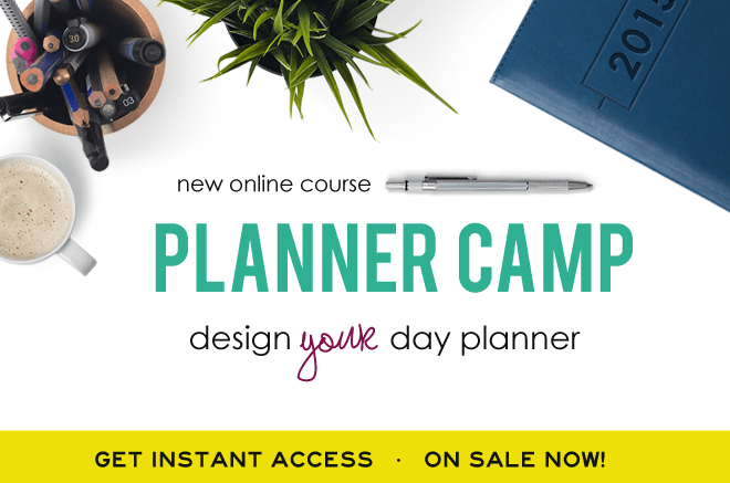 Planner Camp!