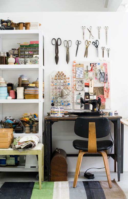 Lotta Anderson's Workspace