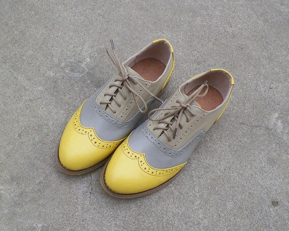 colourful oxfords