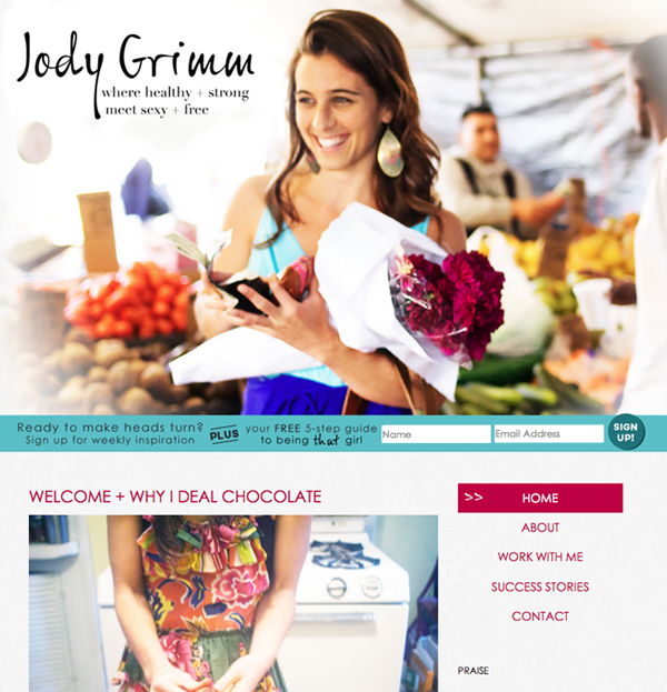 Client Spotlight: JodyGrimm.com