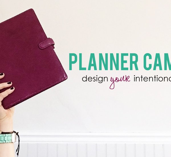 Design your own day planner with Planner Camp!