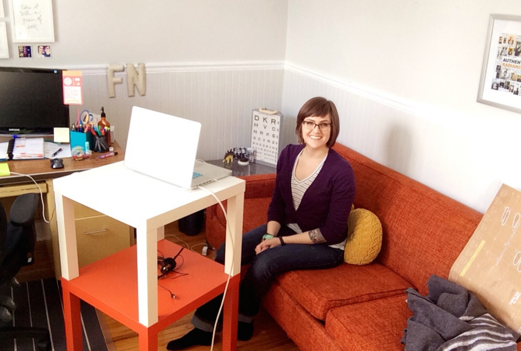 Behind the scenes in teaching online with Kyla Roma