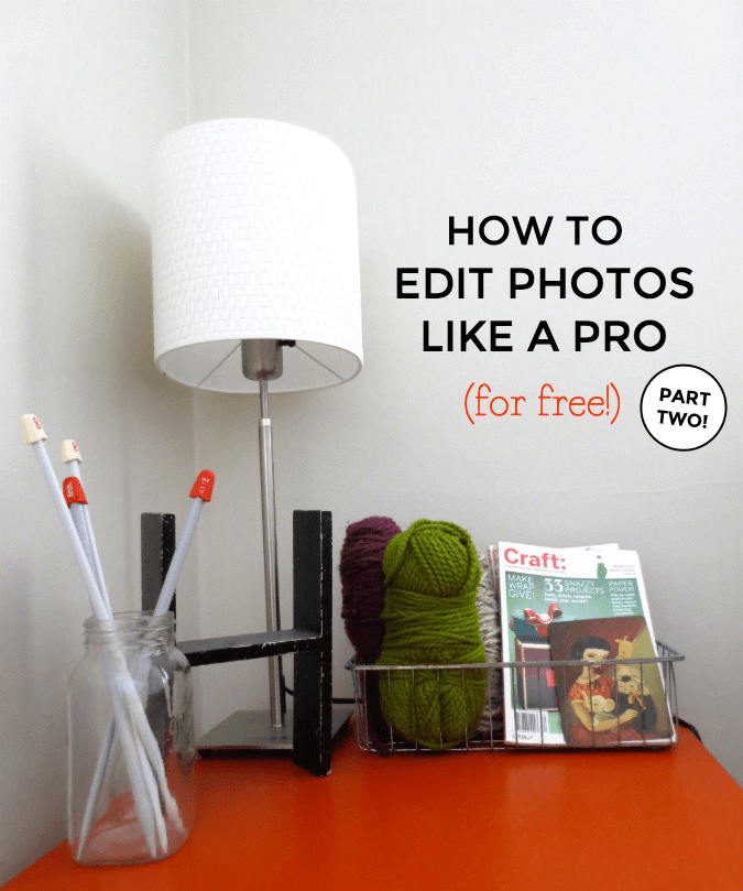Bloggers! How To Edit Photos Like A Pro For Free - Part One by Kyla Roma