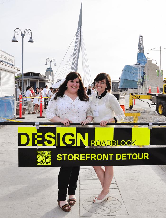 Design Roadblock - Table for 1200, Winnipeg