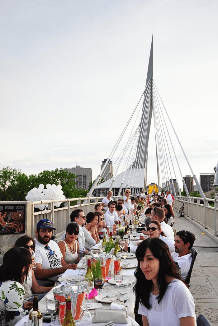 Giant Table - Table for 1200, Winnipeg