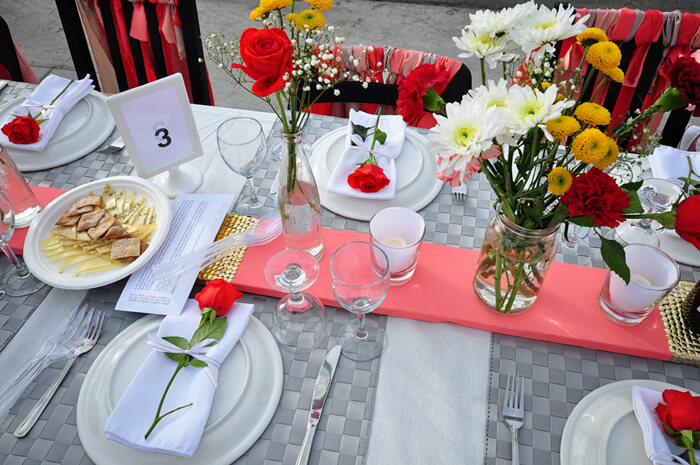 Table Decoration - Table for 1200, Winnipeg