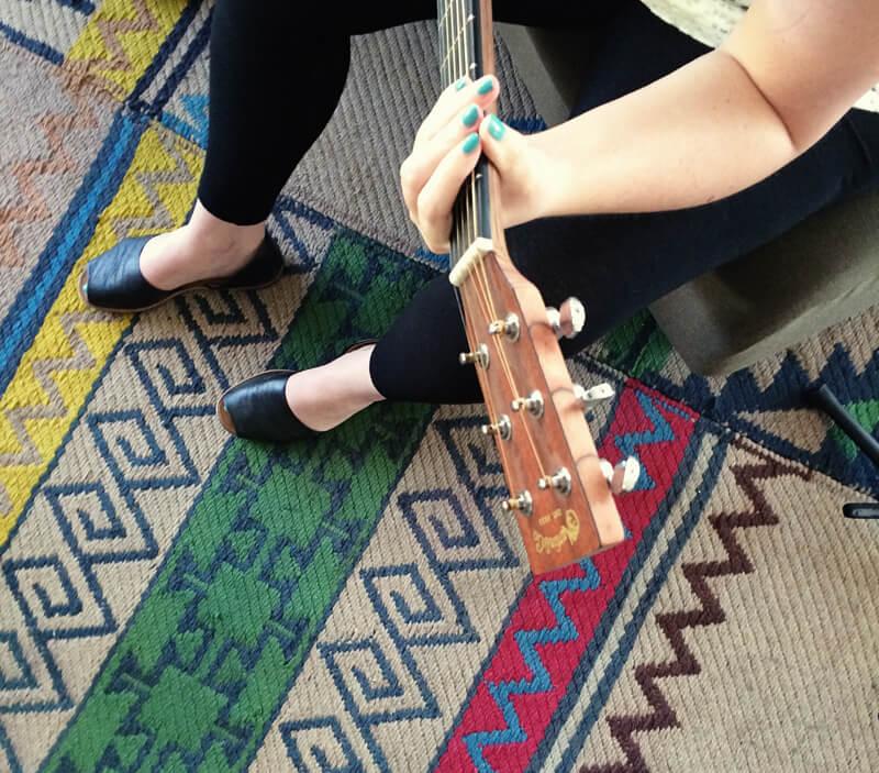 guitar Kyla Roma at Designer Vaca