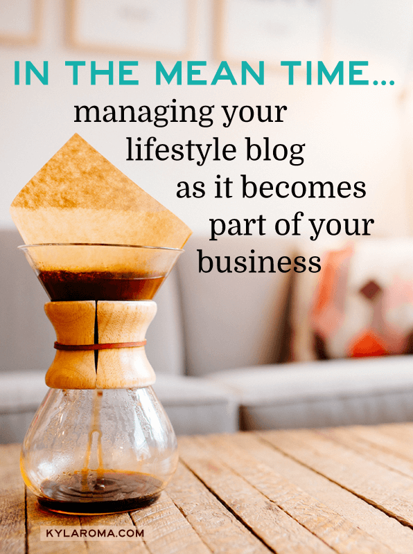 How to manage your blog as it becomes part of your business