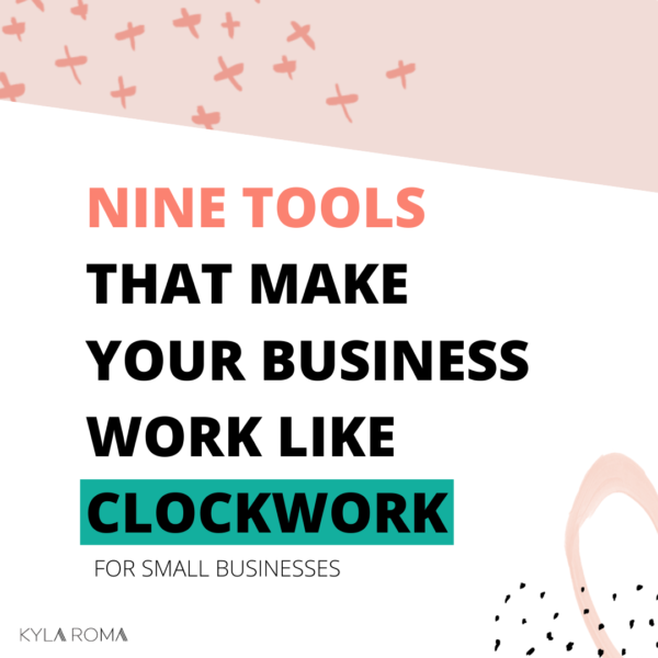 Nine Tools for Small Business Owners and Bloggers