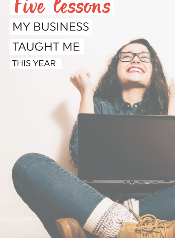 Five lessons I learned as a small business owner this year