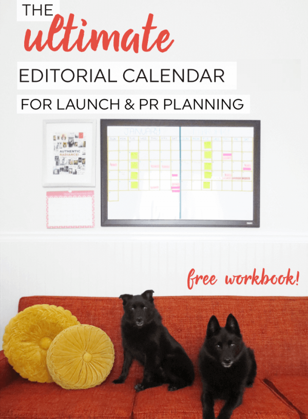 The ultimate editorial calendar for small business owners and bloggers