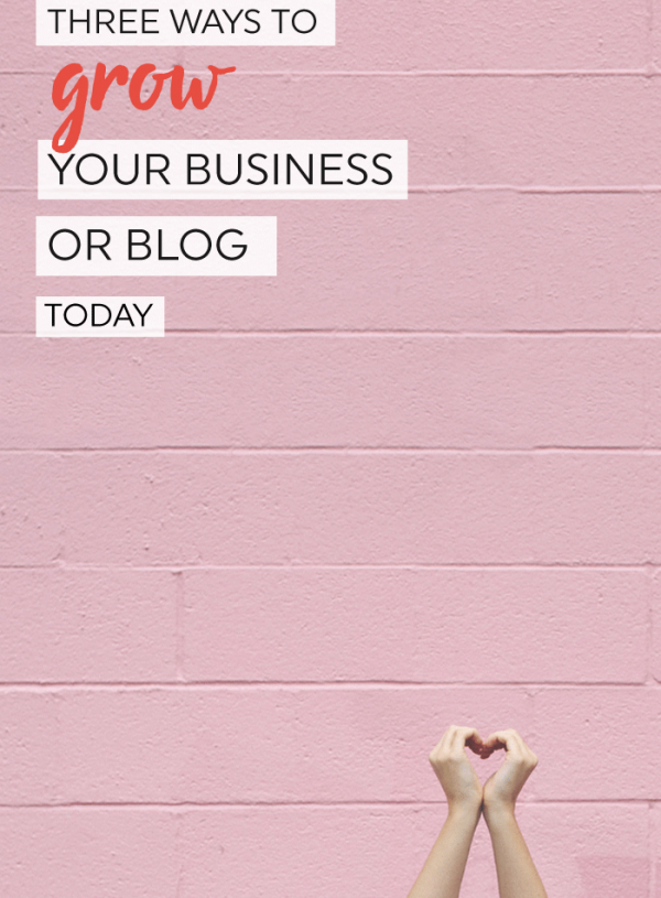 Get unstuck! Three ways to grow your small business or blog today