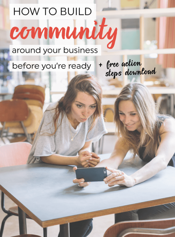 How to build community around your business before you're ready (Jenna Kutcher case study)