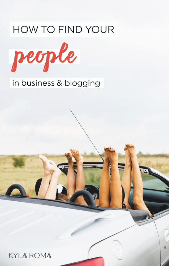 How to find your people and be in the loop online