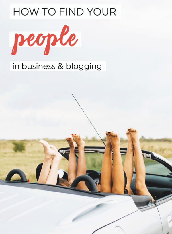 How to find your people in blogging and business