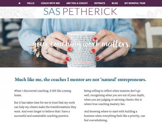 Sas Pertherick - Thoughtful coaches