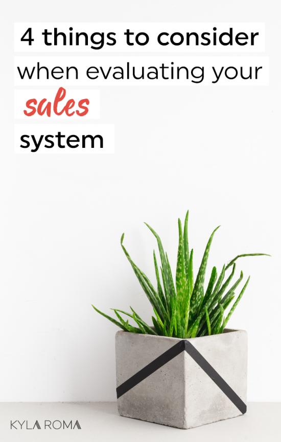 Sales System Kyla Roma